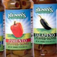 Olive Jar Labels